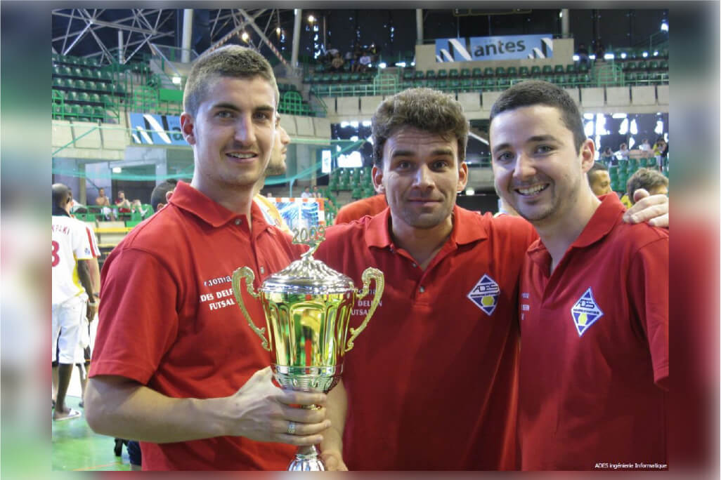 Juin 2009 : Finaliste de la compétition internationale de FUTSAL