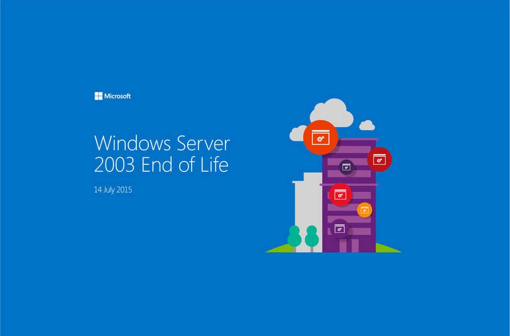 La fin du support de Microsoft Windows Server 2003