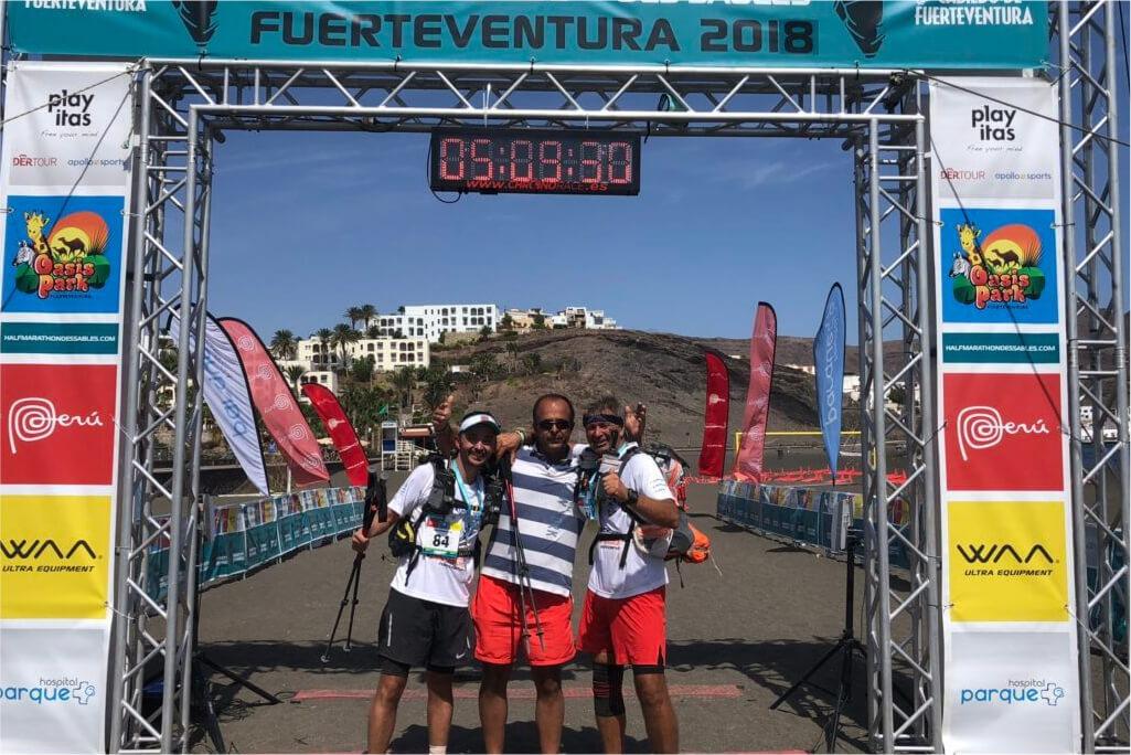 HALF MDS : Ultra Trail de 120km Désert de Fuerteventura